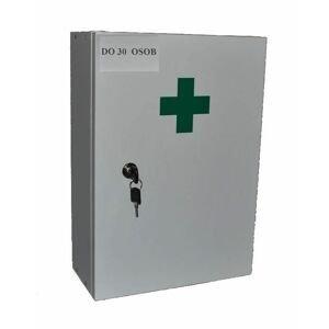 Steriwund Lékárnička nástěnná dřevěná bílá do 30 osob 1 ks