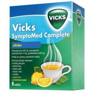 Vicks SymptoMed Complete citron 5 sáčků