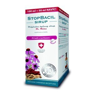 Dr. Weiss STOPBACIL sirup 100+50 ml
