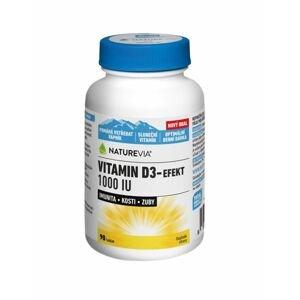 Swiss NatureVia Vitamin D3-Efekt 1000 IU 90 tablet