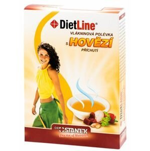 DietLine Vlákninová polévka s hovězí příchutí 3 ks