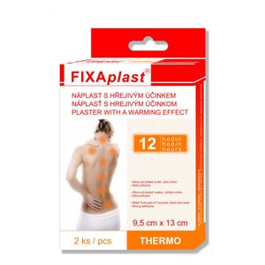 Fixaplast THERMO 9,5 x 13 cm hřejivá náplast 2 ks
