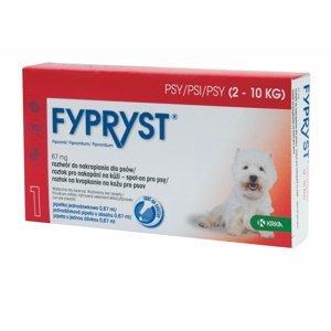 Fypryst Spot-on S pes 2-10 kg 1 pipeta