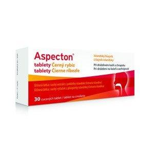 Aspecton Tablety na kašel černý rybíz 30 tablet