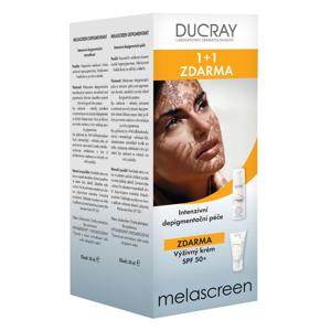 Ducray Melascreen Intenzivní depigmentační péče 30 ml + Výživný krém SPF50+ 40 ml