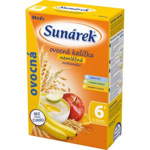 Sunárek Ovocná kašička nemléčná s 8 cereáliemi 180 g