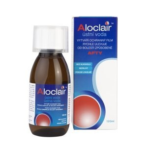 Aloclair ústní voda 120 ml
