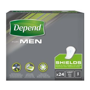 Depend For Men 1 vložky pro muže 24 ks