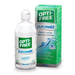 Opti free PureMoist roztok na kontaktní čočky 300 ml