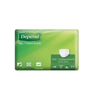 Depend Slip Super XL inkontinenční plenkové kalhotky 15 ks