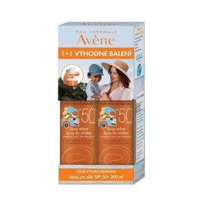 Avene Sprej pro děti SPF50+ duopack 2x200 ml