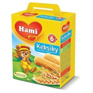 Hami Keksíky dětské sušenky 6M 180 g