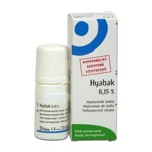Hyabak 0,15% oční kapky 5 ml