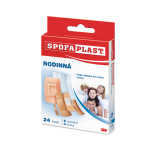 3m Spofaplast® 601 Rodinná mix náplasti 24 ks
