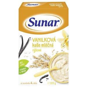 Sunar Vanilková kaše mléčná rýžová 225 g