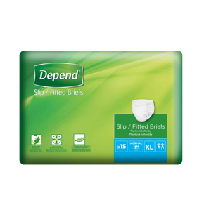 Depend Slip Normal XL inkontinenční kalhotky 15 ks