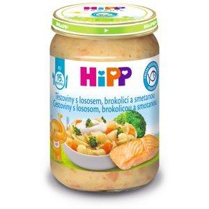 Hipp DĚTSKÉ MENU BIO Těstoviny s lososem, brokolicí a smetanou 250 g