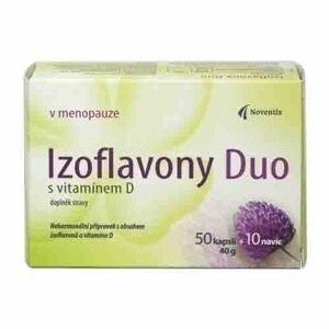 Noventis Izoflavony Duo s vitamínem D 50+10 kapslí