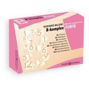 Rosen B-komplex FORTE rodinné balení 100 dražé