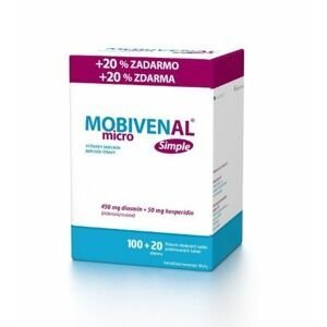 Mobivenal micro Simple 100+20 tablet