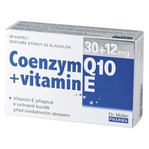 Dr. Müller Coenzym Q10 30 mg + vitamin E 12 mg 30 kapslí