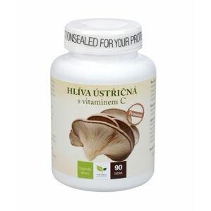 Natural Medicaments Hlíva ústřičná Premium s vitamínem C 90 tablet