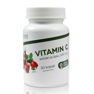 Vieste Vitamin C ze šípku 2000 mg 30 kapslí