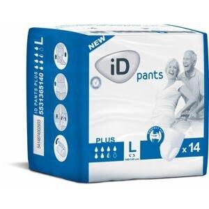 iD Pants Large Plus plenkové kalhotky navlékací 14 ks