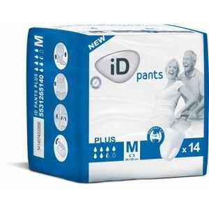iD Pants Medium Plus plenkové kalhotky navlékací 14 ks