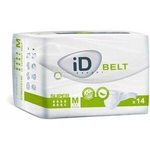 iD Belt Medium Super plenkové kalhotky s upínacím pásem 14 ks