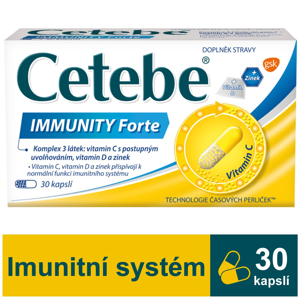 Cetebe IMMUNITY Forte 30 kapslí