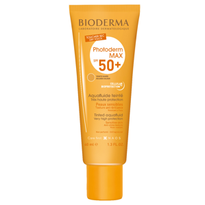 BIODERMA Photoderm MAX Tmavý odstín SPF 50+ tónovaný aquafluid 40 ml