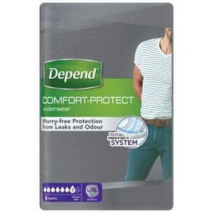 Depend Normal pro muže L/XL absorpční natahovací kalhotky 9 ks