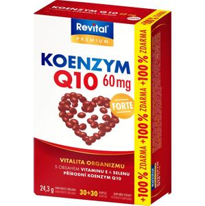 Revital Koenzym Q10 60 mg + Selen + vit.E 30+30 kapslí