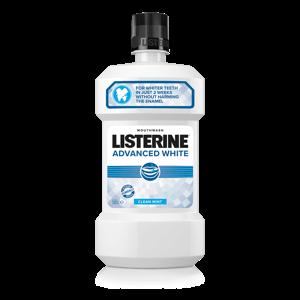 Listerine Advanced White ústní voda 500 ml
