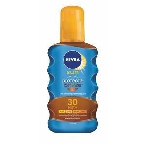 Nivea SUN Protect&Bronze OF30 olej na opalování 200 ml