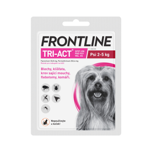 Frontline TRI-ACT psi 2-5 kg spot-on 1 pipeta