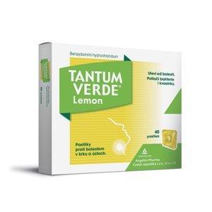 Tantum verde Lemon 3 mg 40 pastilek