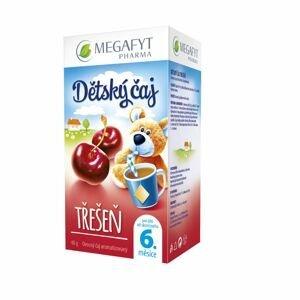 Megafyt Dětský ovocný čaj s příchutí třešně porcovaný čaj 20x2 g