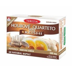 Terezia Houbové Quarteto s reishi 60 kapslí