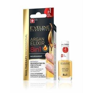 Eveline SPA Argan 8v1 elixir na kůžičku a nehty 12 ml