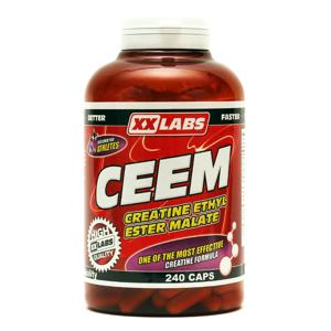 Xxlabs CEEM Creatine Ethyl Ester Malate 240 kapslí