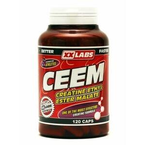 Xxlabs CEEM Creatine Ethyl Ester Malate 120 kapslí
