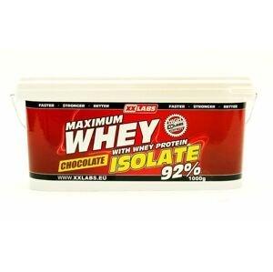 Xxlabs Maximum Whey Protein Isolate 92 čokoláda 1000 g