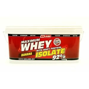 Xxlabs Maximum Whey Protein Isolate 92 banán 1000 g