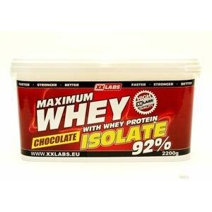 Xxlabs Maximum Whey Protein Isolate 92 čokoláda 2200 g