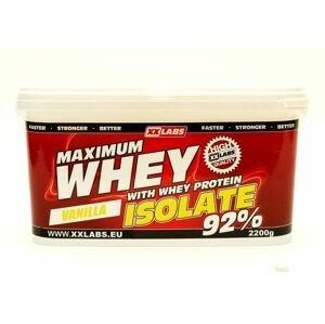 Xxlabs Maximum Whey Protein Isolate 92 vanilka 2200 g