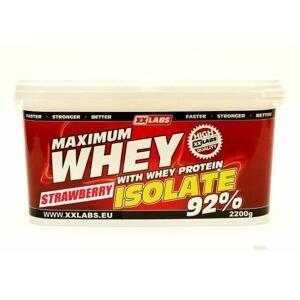 Xxlabs Maximum Whey Protein Isolate 92 jahoda 2200 g
