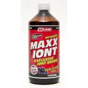 Xxlabs Maxx Iont Sport drink černý rybíz nápoj 1000 ml