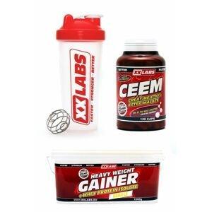 Xxlabs CEEM cps.120 + Heavy Weight Gainer vanilka 1000g + šejkr